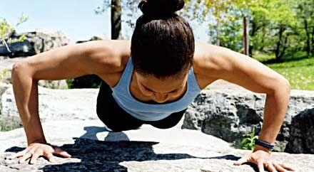 Лицева опора упражнение