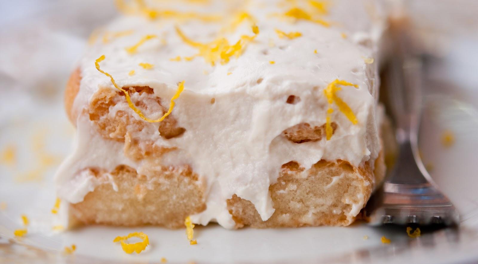 лека бяла бишкотена торта рецепта 2