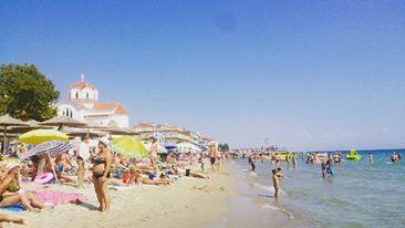 гръцкия плаж