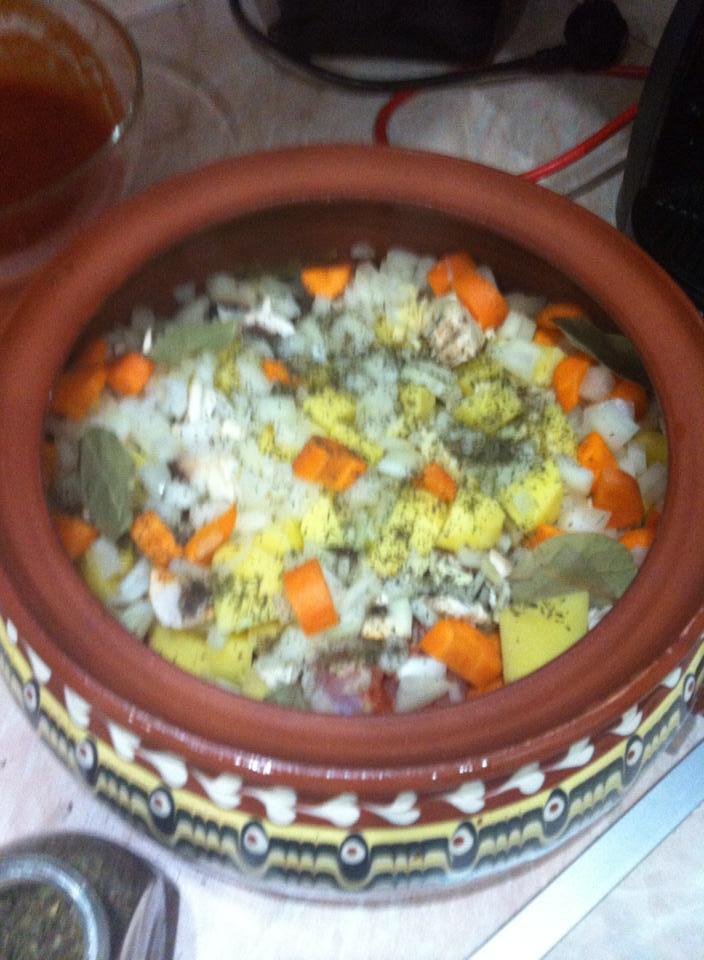 заешко и зеленчуци