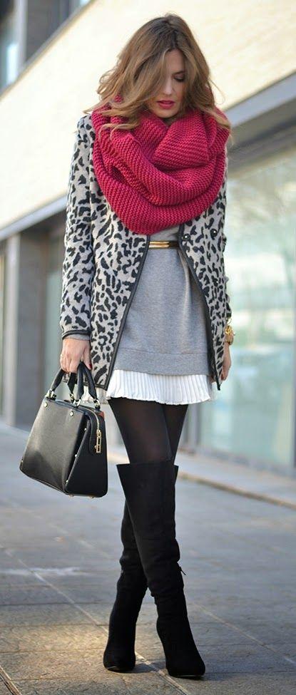 мода ноември шал