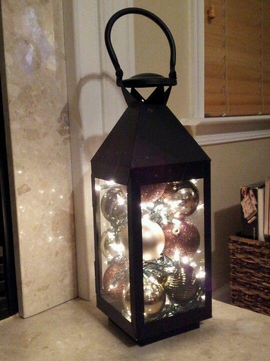 декоративна коледна лампа украса