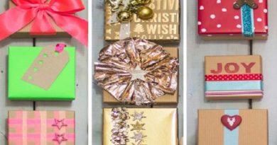 как да опаковаме подаръците сами