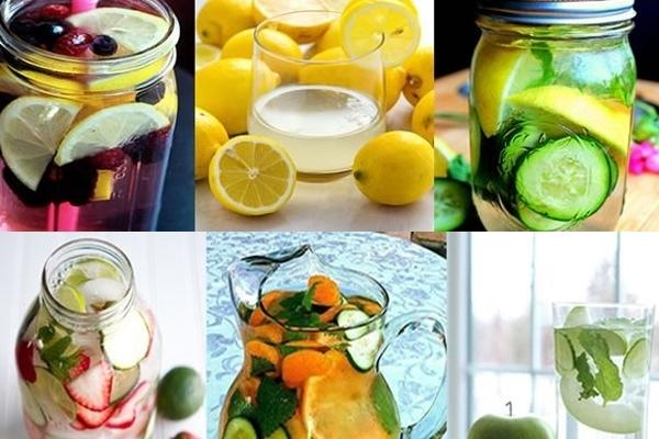 рефрешинг вода рецепти