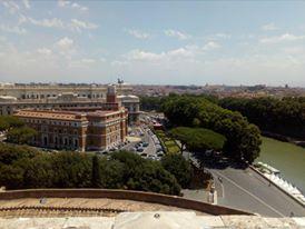"""Поглед от замъка """"Сан Анджело"""", Рим"""