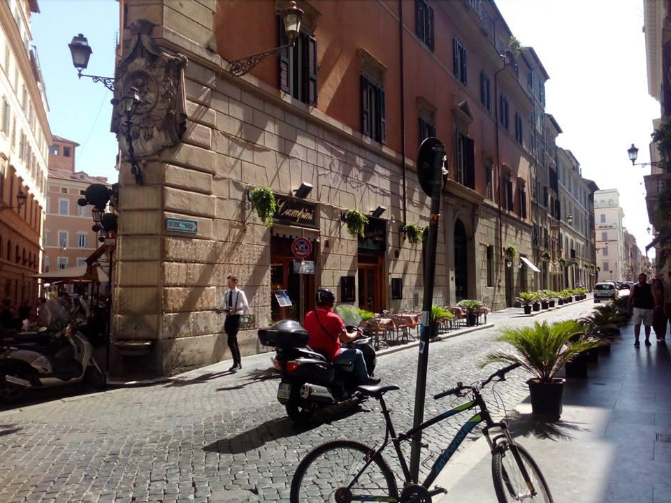 малките китни улички на Рим
