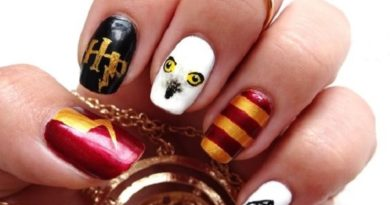 """магически нокти """"Хари Потър"""""""