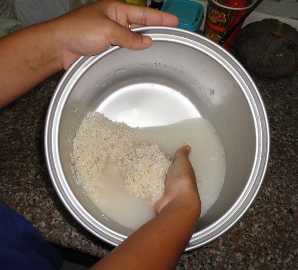 оризова вода