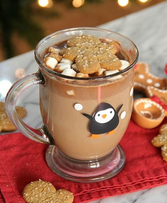 любимият горещ шоколад