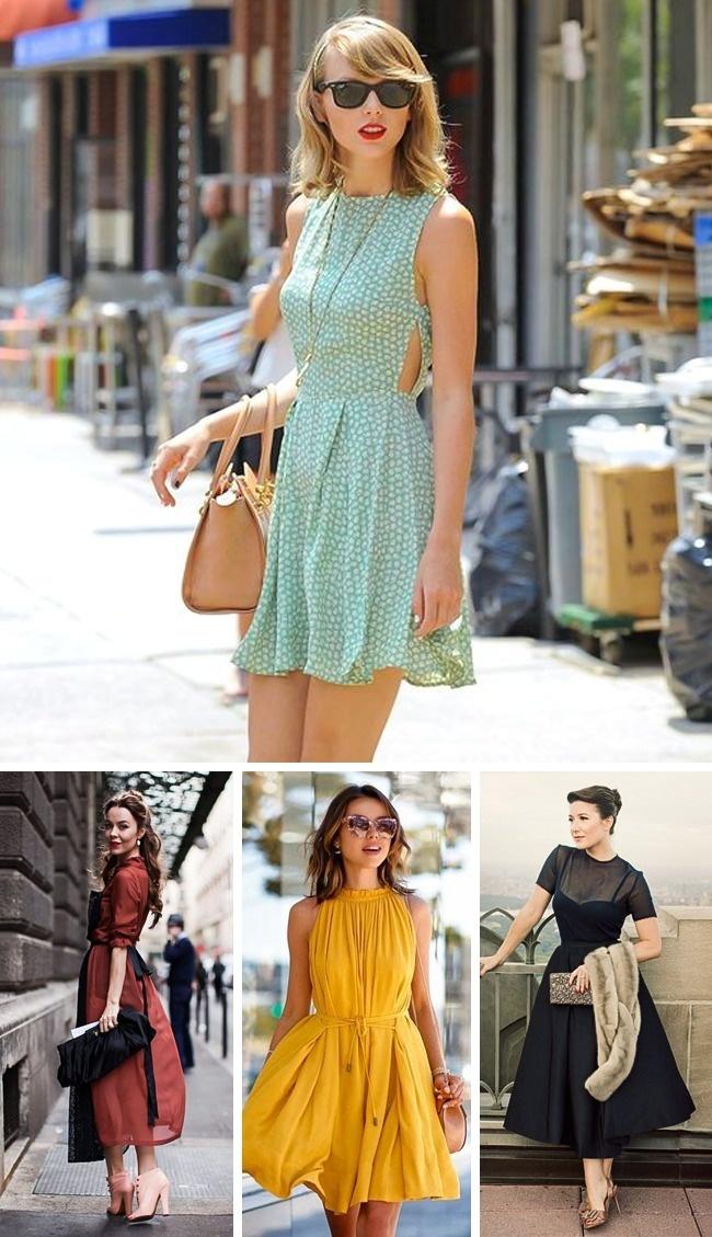 а-образна рокля