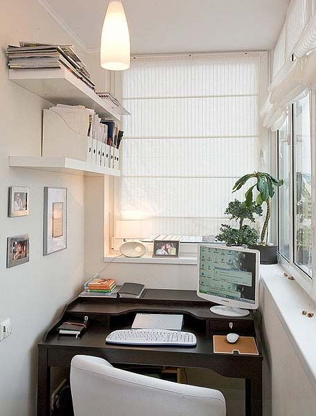 идеи за тераса с бюро