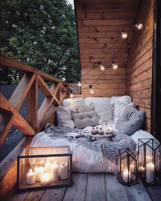 спалня на терасата
