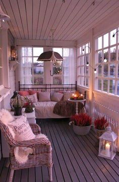 идеи за спалня тераса