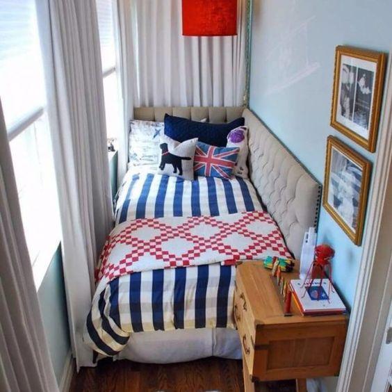 малка спалня на терасата