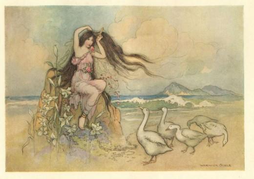 илюстрации от стара версия накнигата