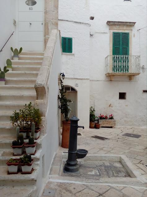 средиземноморски стил в града