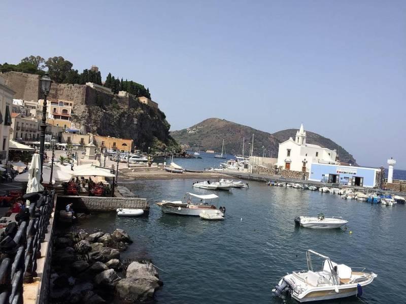 остров Липари, Сицилия
