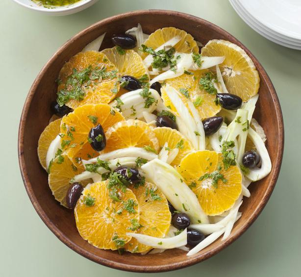 салата с портокал от Сицилия