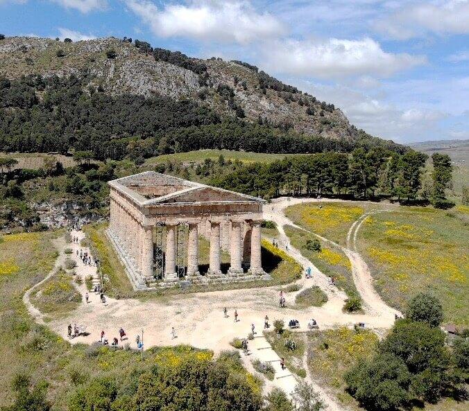 храмът в Сегеста, Сицилия