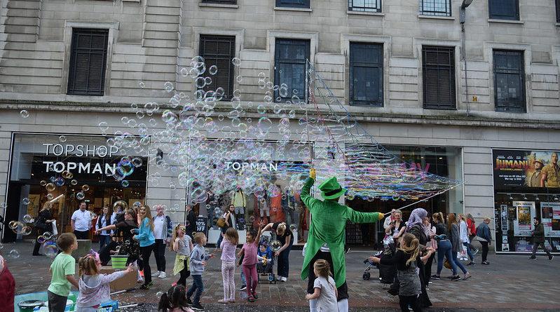 Улични забавления