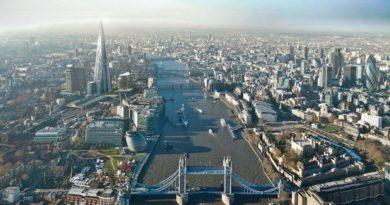Лондон от високо