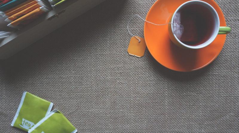 чаша с английски чай