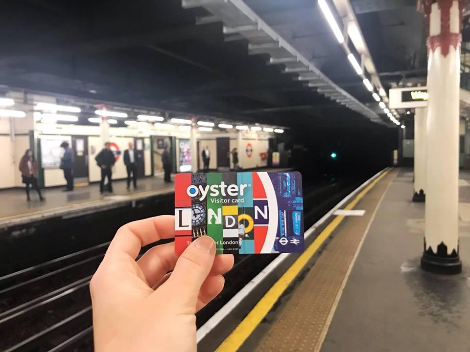 за първи път в Лондон карта за пътуване