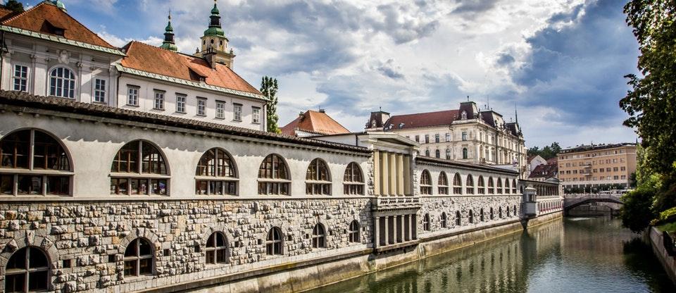 пазара в Любляна