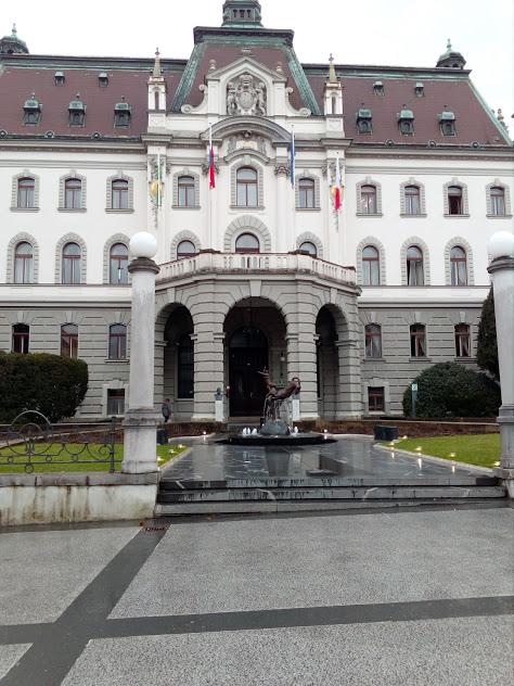 Университета в Любляна, Ректорат