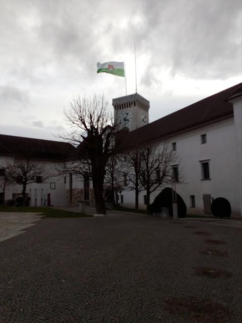 вътрешен двор замъка
