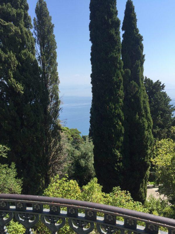 гледка от двореца на Сиси