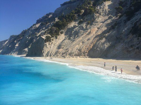 плаж Егремни остров Лефкада