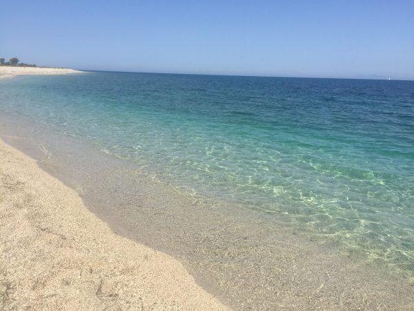 плажът Гира на остров Лефкада