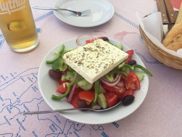 гръцка селска салата