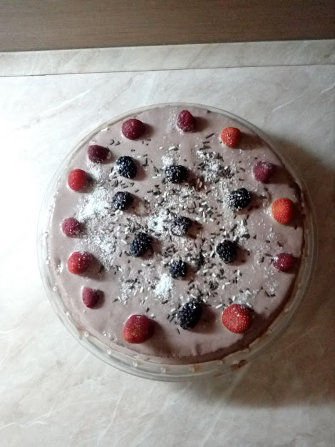 готовата лесна торта с готови блатове