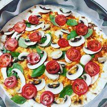 вкусна домашна пица с лаваш